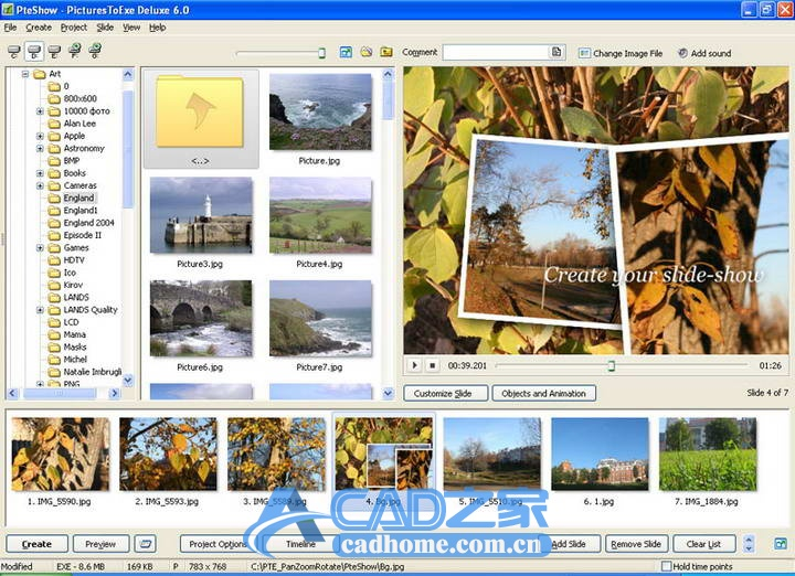 PicturesToExe v10.0.10