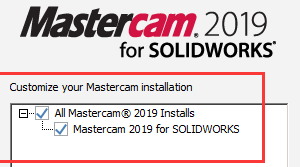 MasterCAM 2019 for solidworks 2010-2018_Win64插件
